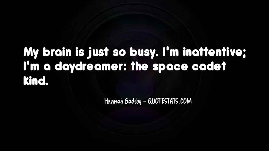 Quotes About Gadsby #1761883