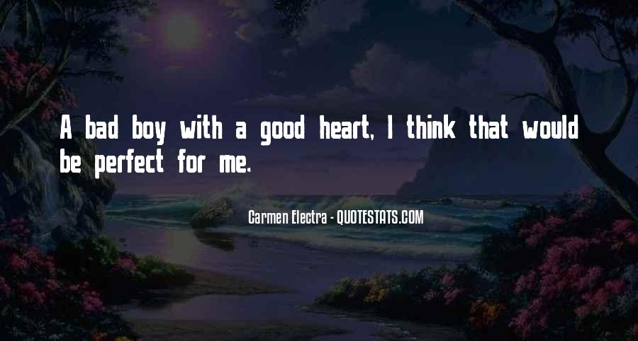 Good Boy Gone Bad Quotes #186331