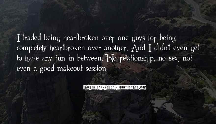 Good Broken Hearted Quotes #220700