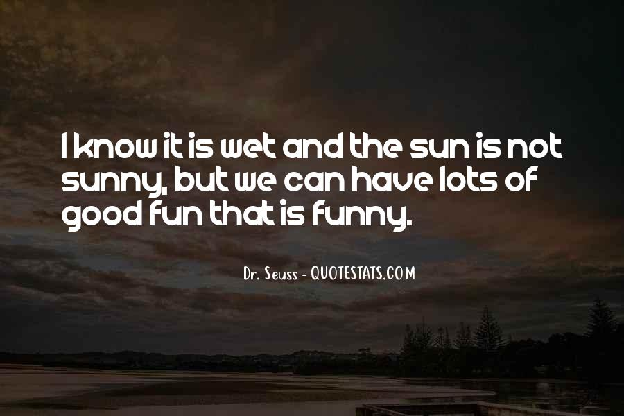 Good But Funny Quotes #811020