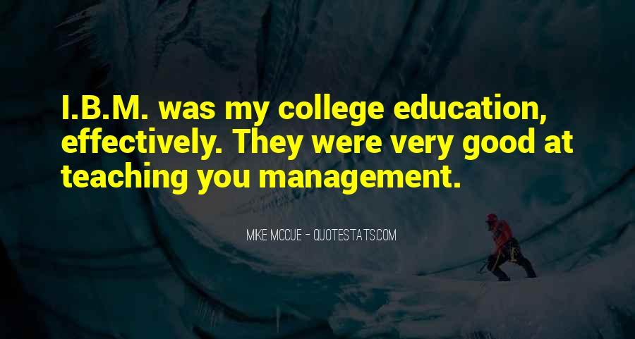 Good College Education Quotes #121694