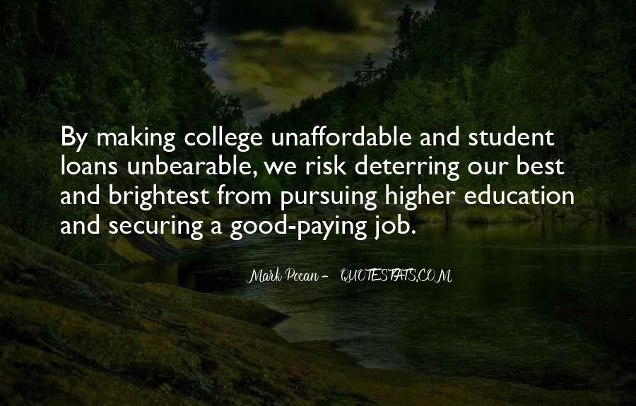 Good College Education Quotes #298173