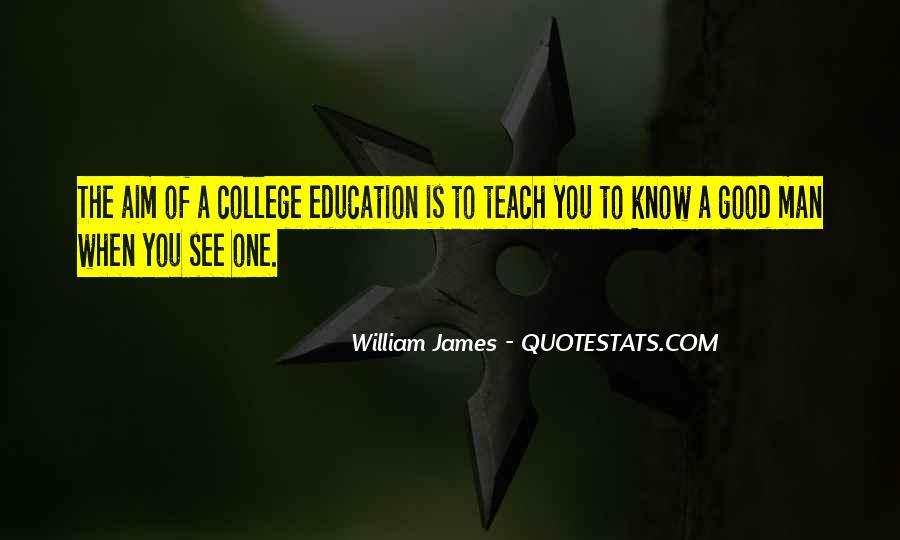 Good College Education Quotes #855148