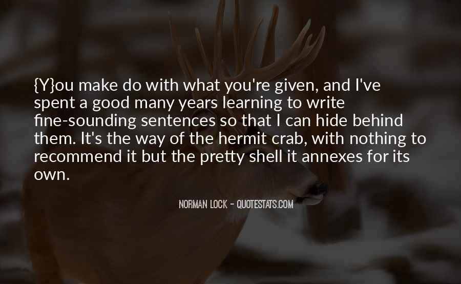 Good Crab Quotes #596744
