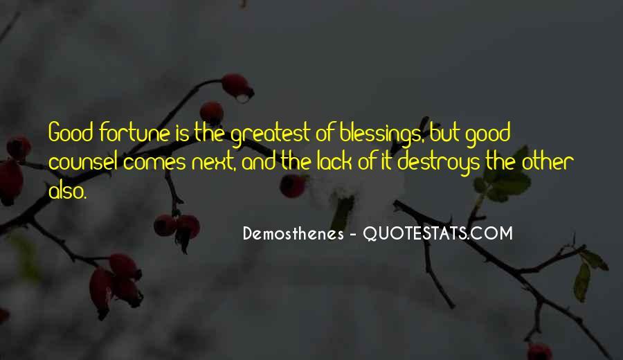 Good Demosthenes Quotes #740736