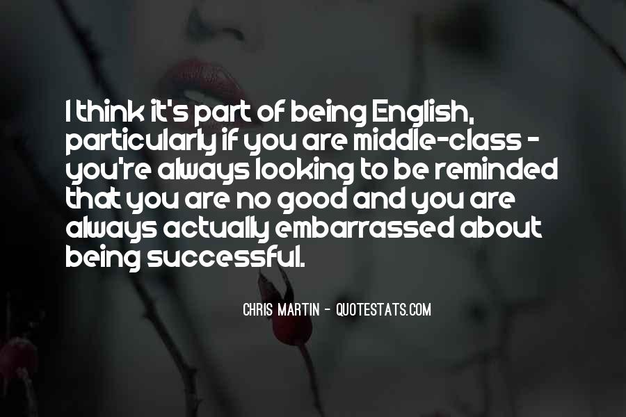 Good English Class Quotes #413078