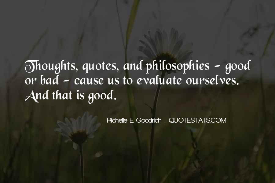 Good Evaluation Quotes #1416072
