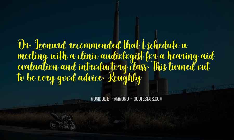 Good Evaluation Quotes #1696509