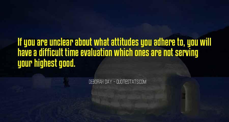Good Evaluation Quotes #1823163