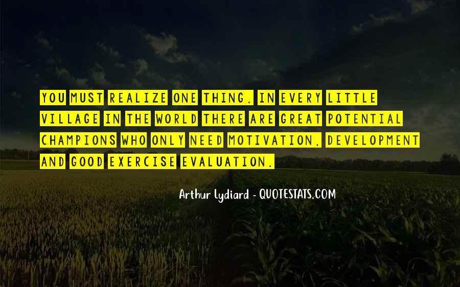 Good Evaluation Quotes #2443