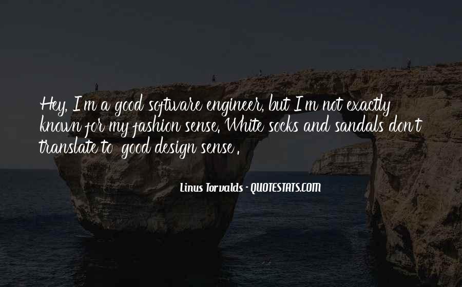 Good Fashion Sense Quotes #220523