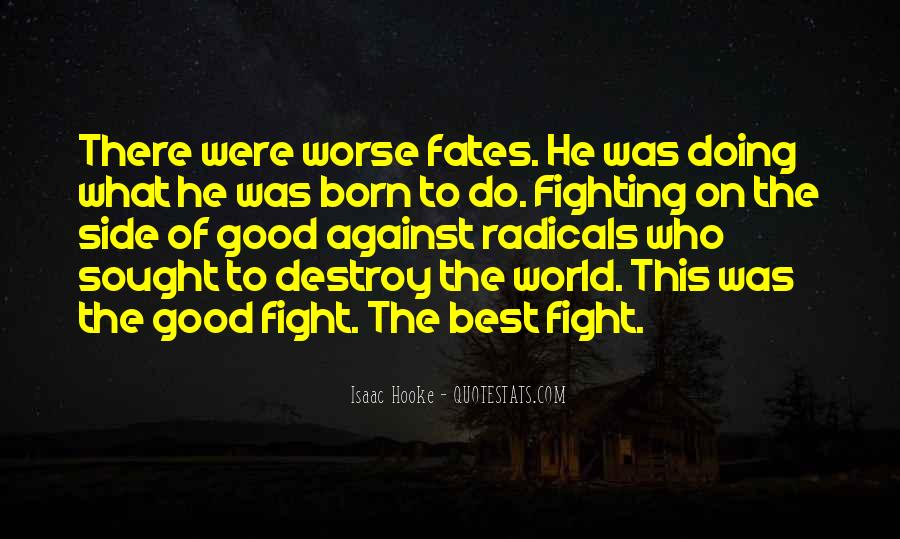 Good Fight Quotes #133255