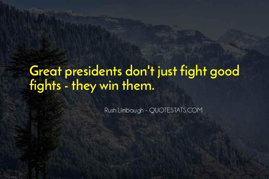 Good Fight Quotes #315013