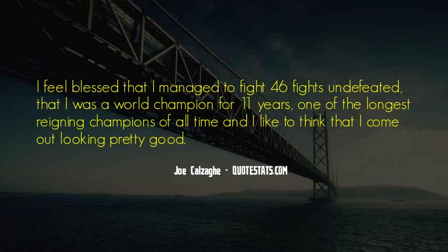 Good Fight Quotes #373769