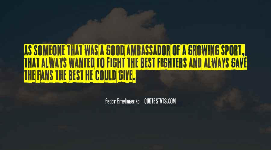 Good Fight Quotes #412179