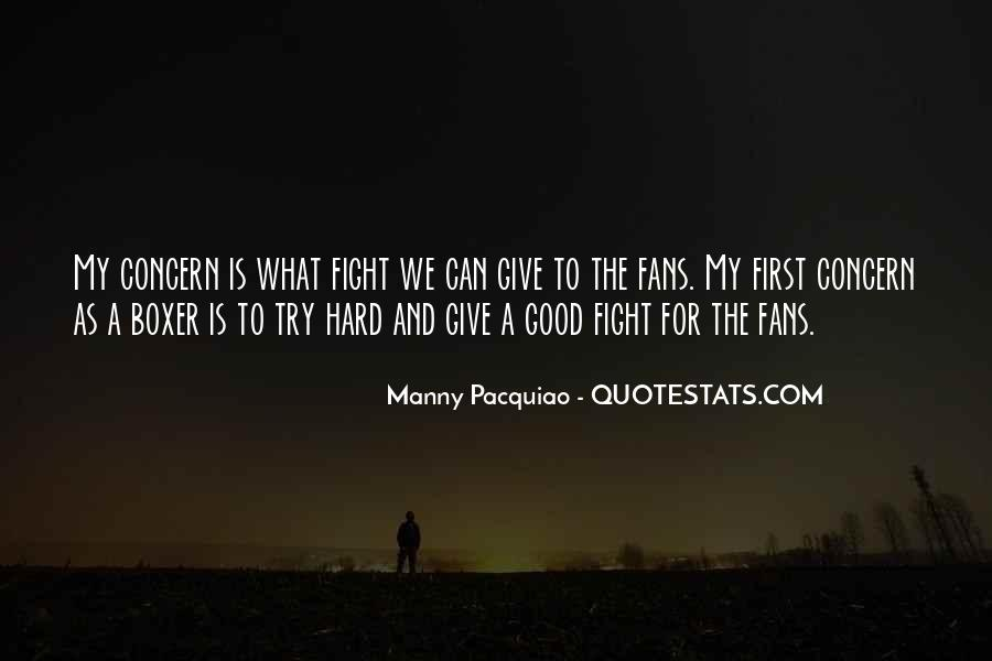 Good Fight Quotes #473912