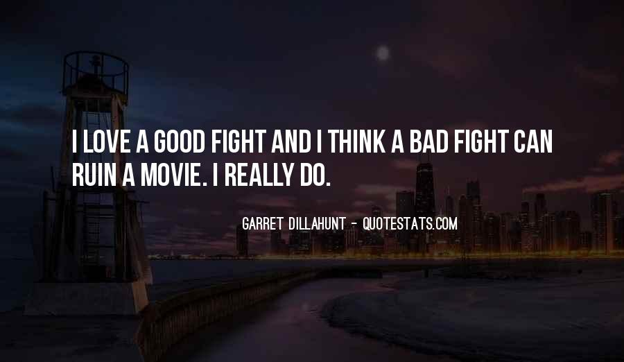 Good Fight Quotes #51672