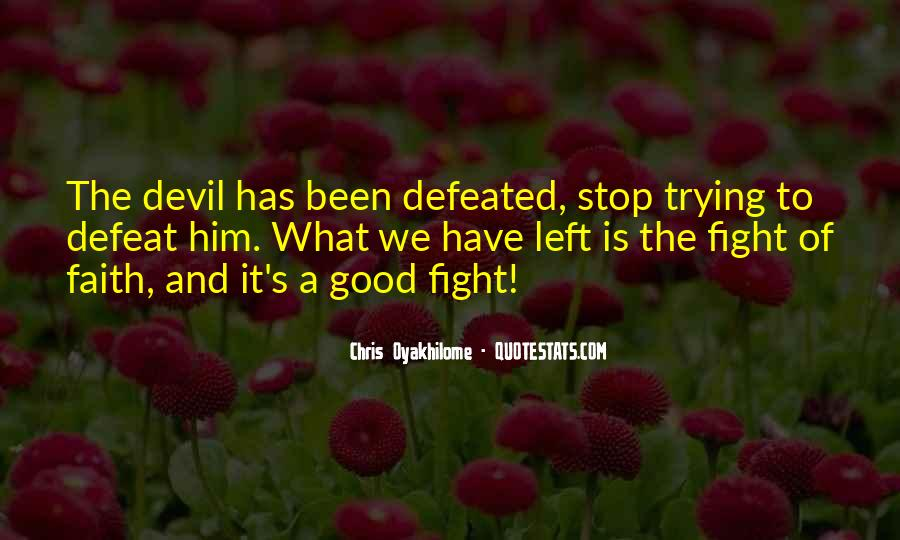 Good Fight Quotes #71111