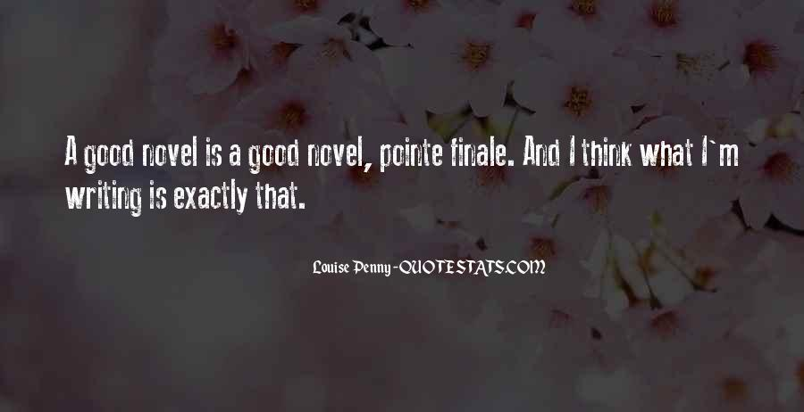 Good Finale Quotes #1869536