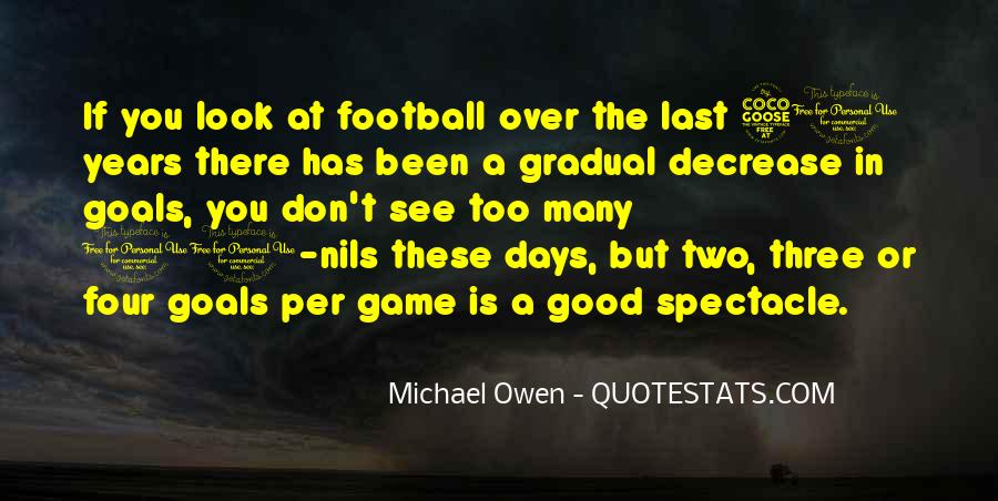 Good Football Game Quotes #1452942