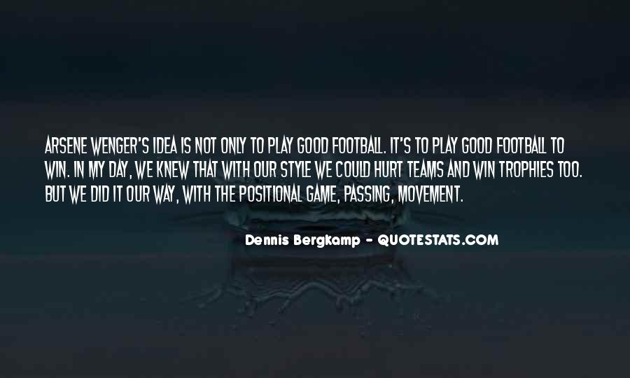 Good Football Game Quotes #888919