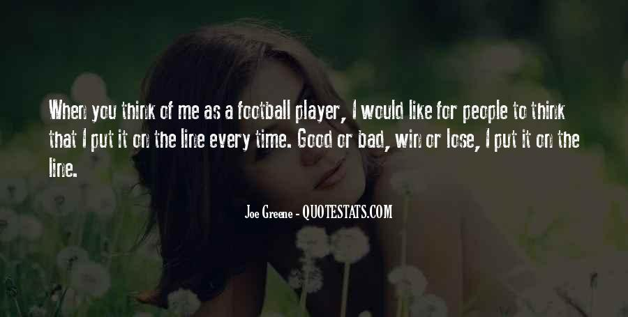 Top 100 Good Football Quotes: Famous Quotes & Sayings About ...