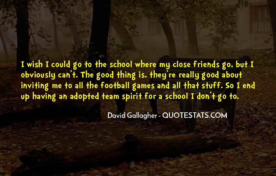 Good Football Team Quotes #1317172