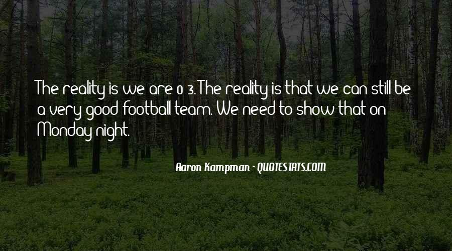 Good Football Team Quotes #1615809