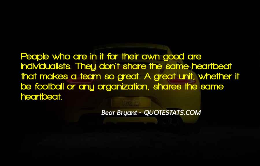 Good Football Team Quotes #365854