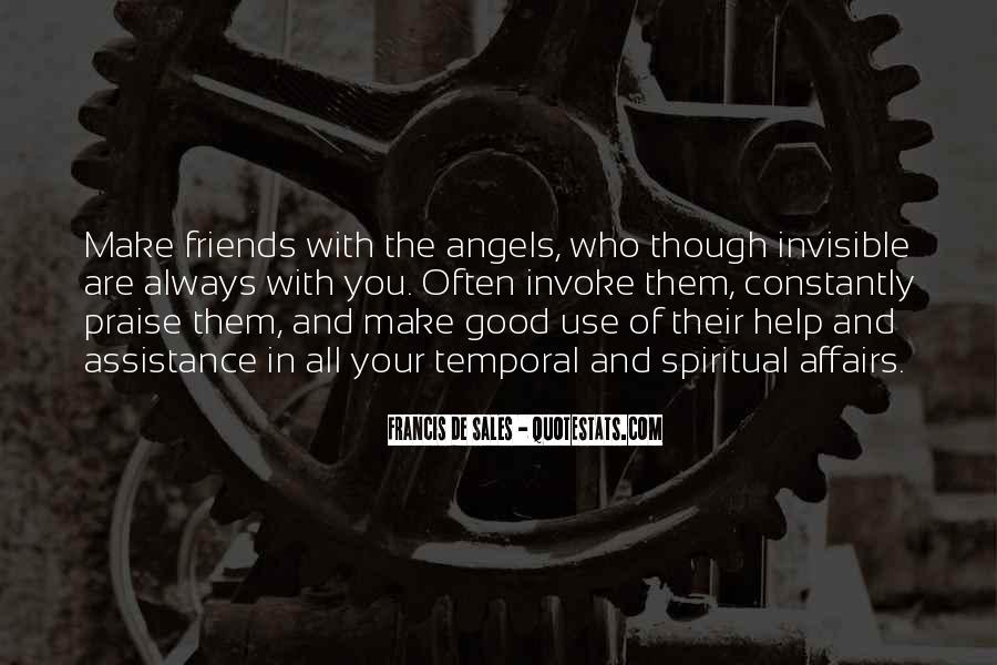 Good Friends Always There Quotes #1262548