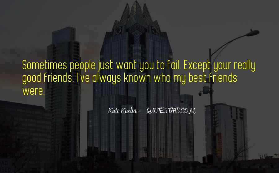 Good Friends Always There Quotes #19241