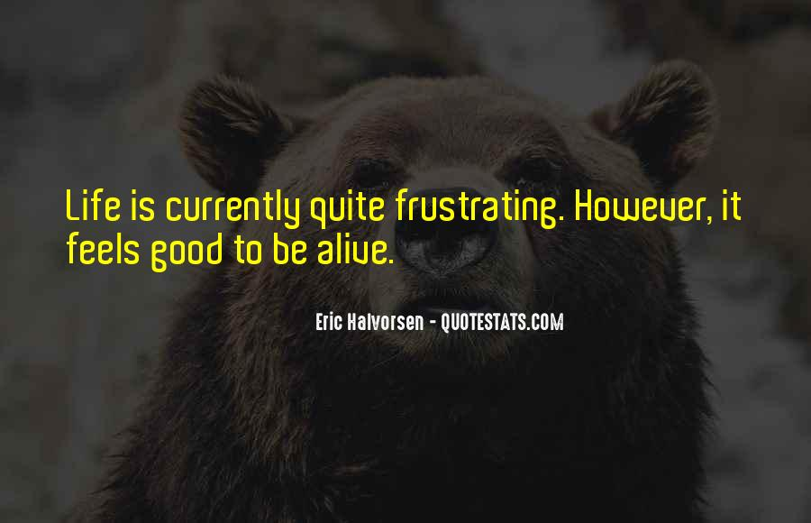 Good Frustrating Quotes #1667310