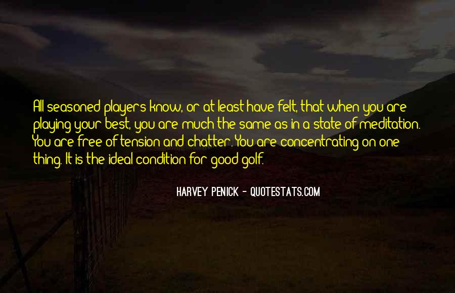 Good Harvey Penick Quotes #333318