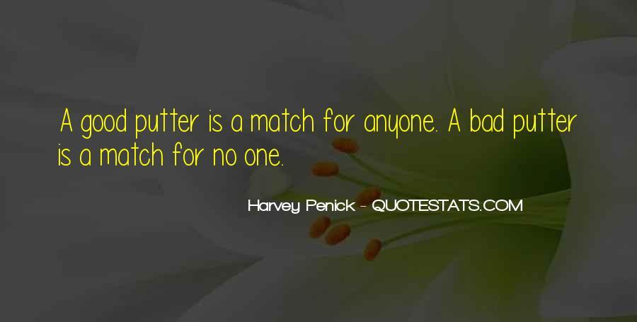 Good Harvey Penick Quotes #882342