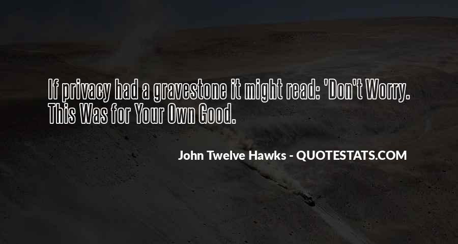 Good Hawks Quotes #83257