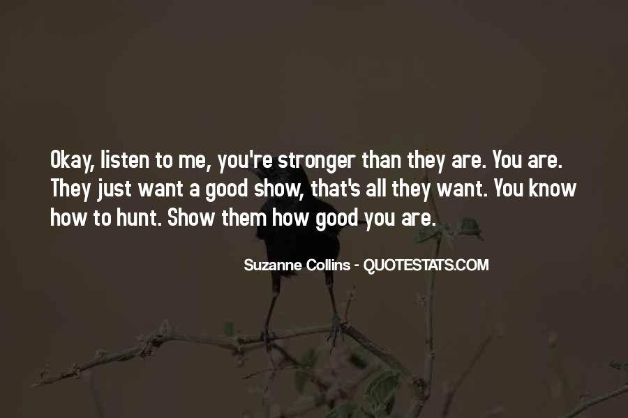 Good Hunger Games Quotes #247919