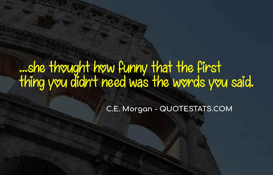 Quotes About Funny Words #314943