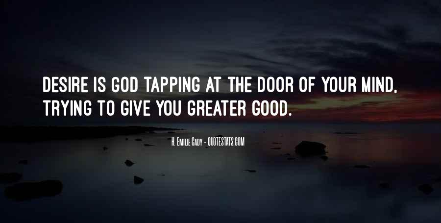 Good Is God Quotes #103529