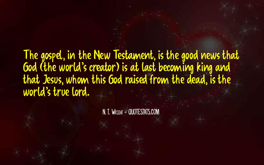Good Is God Quotes #112130