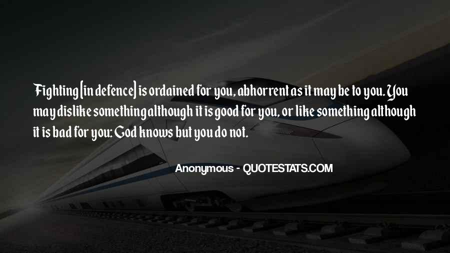 Good Is God Quotes #117485