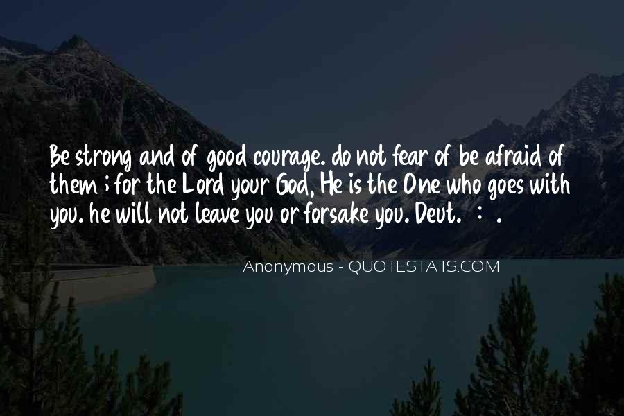 Good Is God Quotes #127309