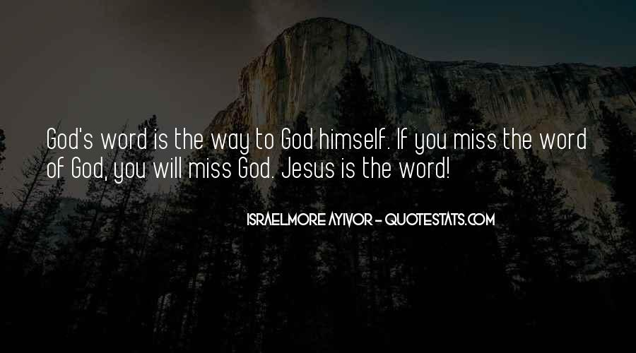 Good Is God Quotes #19123