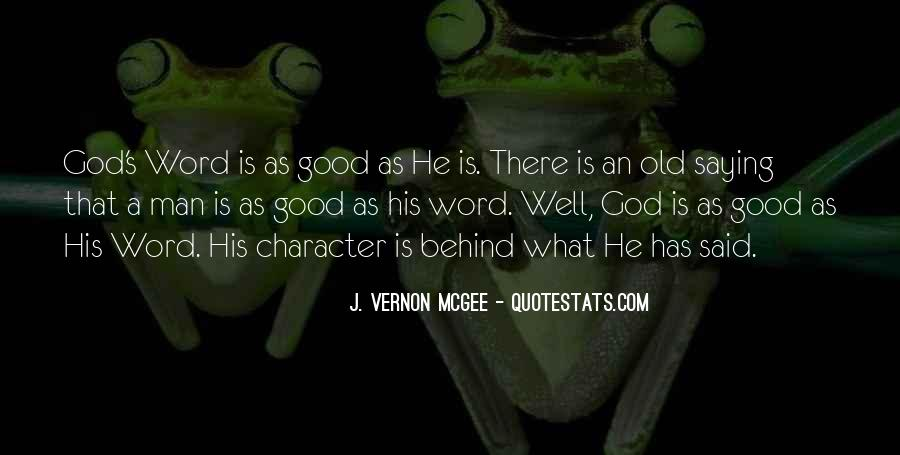 Good Is God Quotes #37659
