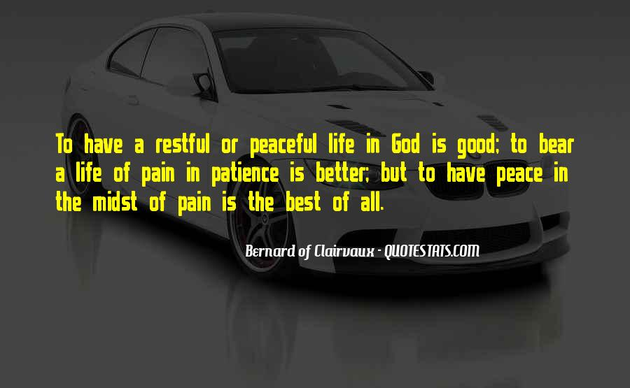 Good Is God Quotes #5066