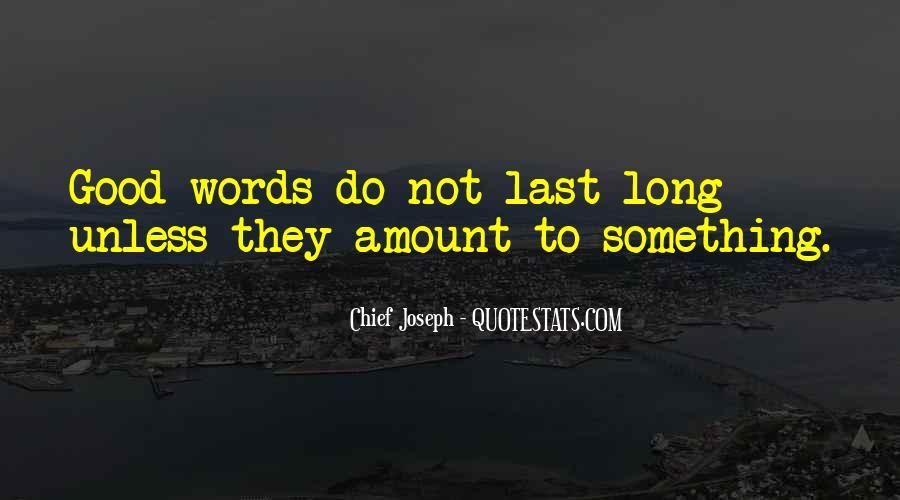 Good Last Words Quotes #143154
