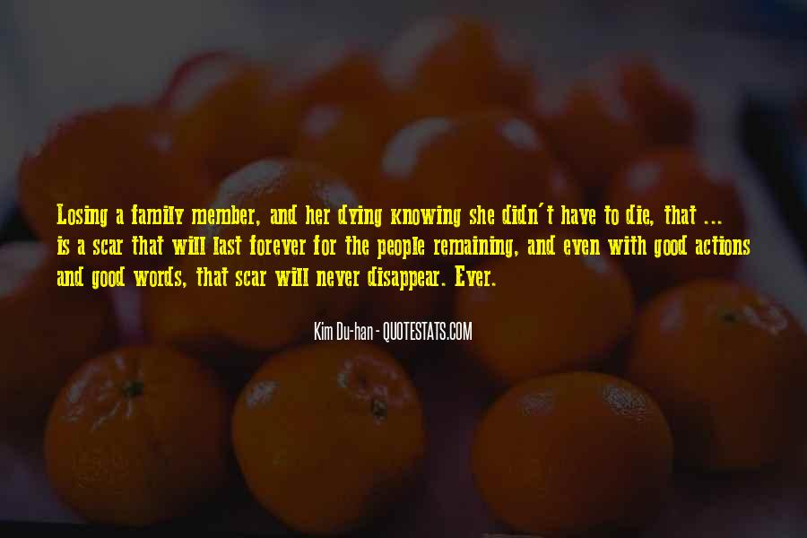 Good Last Words Quotes #257468