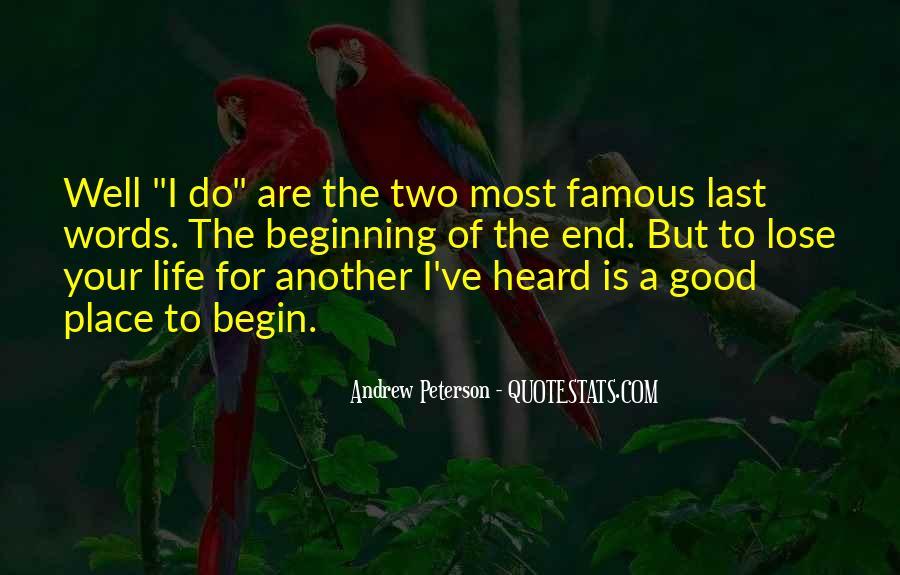 Good Last Words Quotes #842726