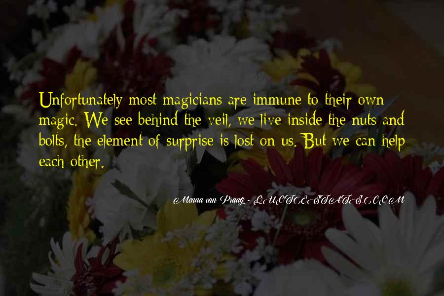 Quotes About The Element Of Surprise #116108