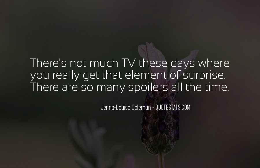 Quotes About The Element Of Surprise #1454481