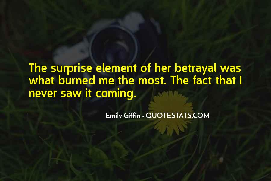 Quotes About The Element Of Surprise #1524450